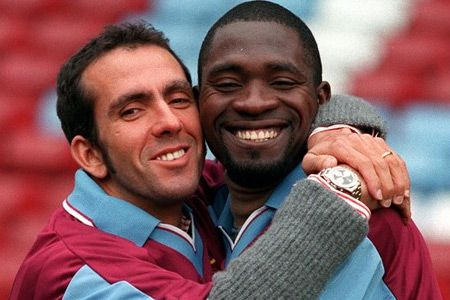 The signings of Paolo Di Canio and Marc Vivien Foe in January 1999 were perhaps the best bit of business Harry Redknapp or any of his predecessors in the West Ham hotseat had ever done. West Ham ended 1998-99 in fifth place, qualifying for the Intertoto Cup