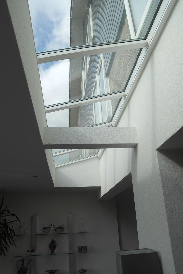 lichtstraat in aanbouw. perfecte oplossing voor onze donkere huiskamer.