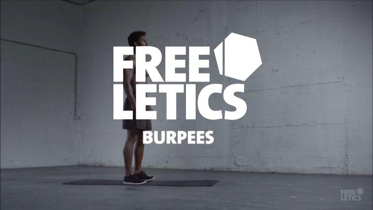 Como hacer Burpees - Freeletics Instructor Video