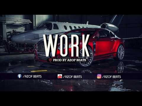(3) | WORK | HARD TRAP HIP HOP BEAT INSTRUMENTAL| AGRESSIVE RAP BEATS ( PROD BY AZOF BEATS ) - YouTube