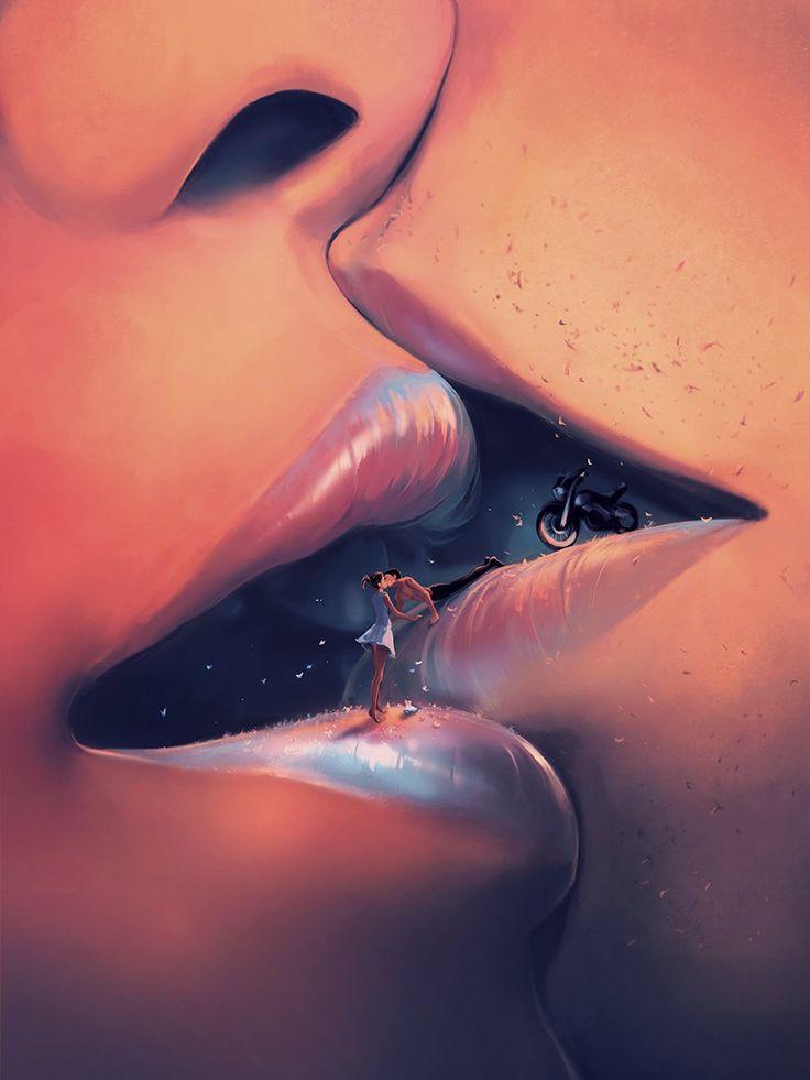 Ciryl Rolando dibujos inspirados en Hayao Miyazaki Tim Burton De entre todos los psicólogos clínicos del mundo, probablemente ninguno tiene posibilidad de batir al francés Ciryl Rolando y su pintura digital. Trabajando bajo su nombre artístico Aquasixio,  centra sus trabajos alrededor del aspecto emocional de los seres humanos y los colores de la vida.