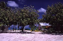 A school in Funafuti