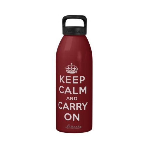 Keep Calm and Carry On Drinking Bottles