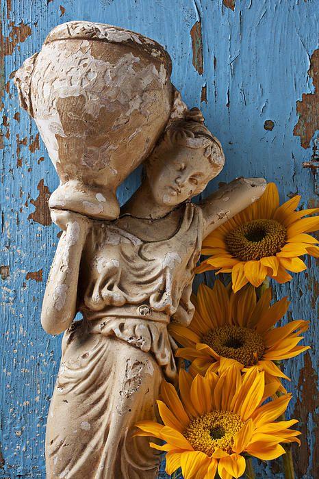 136 Best Garden Statues Images On Pinterest Garden