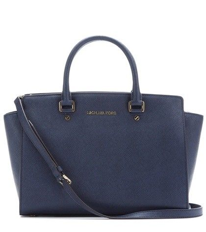 SELMA LEATHER TOTE MICHAEL MICHAEL KORS