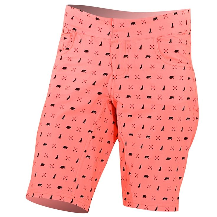 Women's Shebeest Skinny Americano Cycling Shorts, Size: Medium, Pink