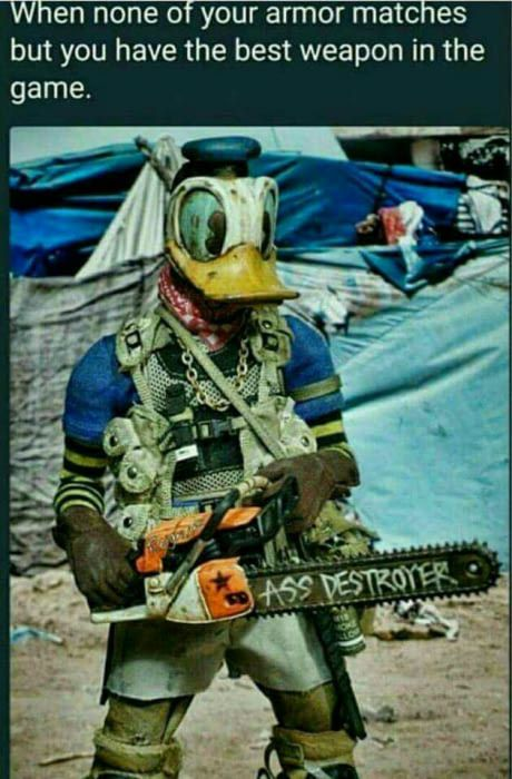 Donald duck is gonna fk you up.