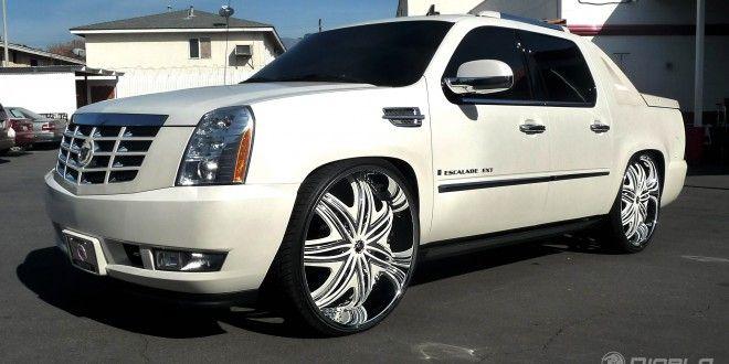 2010 Cadillac Escalade EXT On Diablo Wheels! NICE! A REAL EYE CATCHER! - Big Rims - Custom Wheels