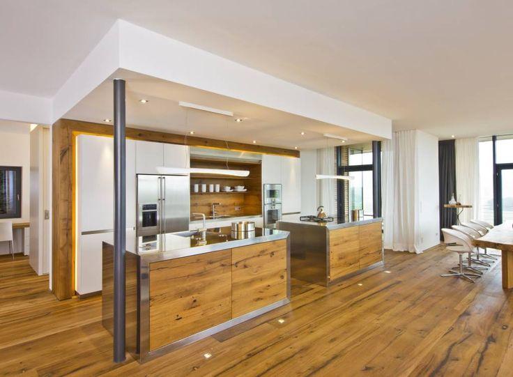 80 best Küche images on Pinterest Kitchen ideas, Modern kitchens - anrichte küche weiß