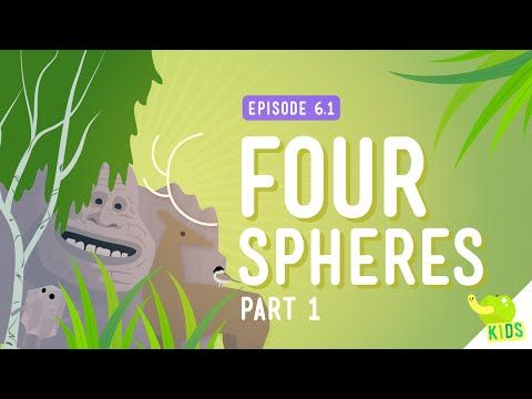 The Four Spheres (Geo, Bio, Hydro, & Atmo) with Crash Course Kids | The Kid Should See This