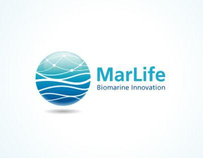 Logo design for Marlife, Biomarine innovation network