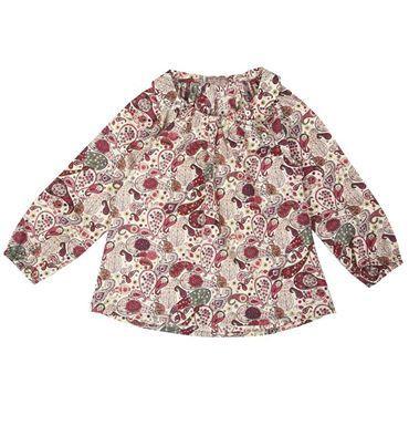 La blusa liberty di Emile et Ida è online su www.cocochic.it http://www.cocochic.it/it/home/90-blusa-liberty.html