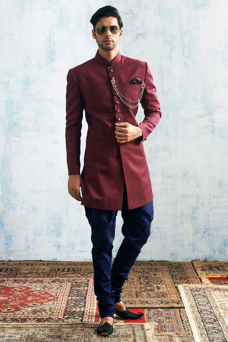 Groom kurta suits black wedding kurta designs asifa and nabeel men - Suits For Men Wedding Outfits Online By Manyavar
