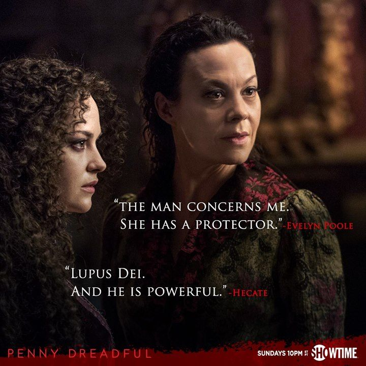 Penny Dreadful | Season 2 | Helen McCrory as Madame Kali or Evelyn Poole and Sarah Greene as Hecate