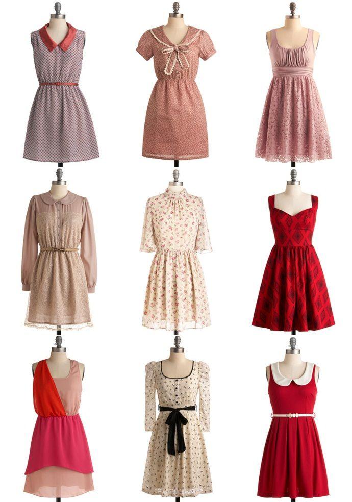 Vestidos casuales vintage