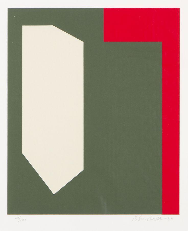Juhana Blomstedt, 1990, serigrafia, 23,5x19,5 cm, edition 20/100 . Hagelstam A141