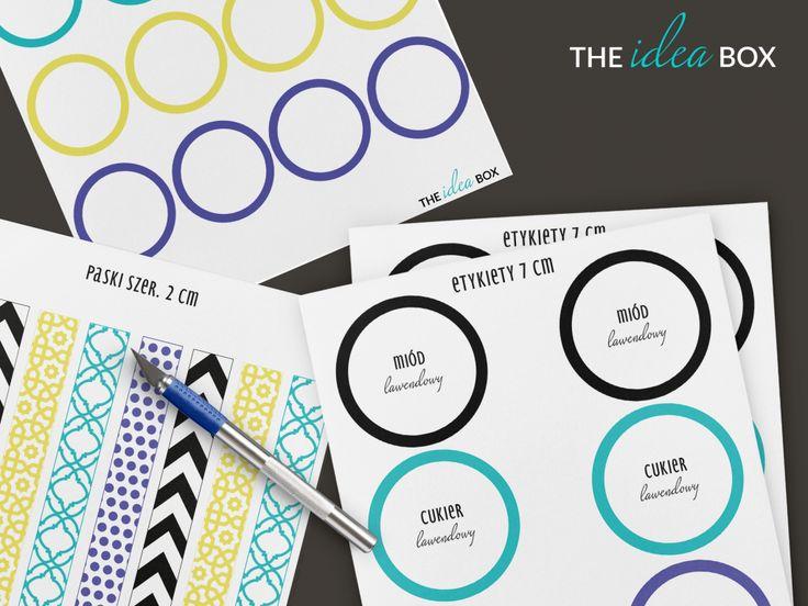 Lubisz robić przetwory? Za pomocą zestawu naszych kolorowych etykiet sprawisz, że Twoja półka w spiżarni będzie kolorowa. Zajrzyj do naszego sklepu :  http://pl.dawanda.com/shop/theideabox
