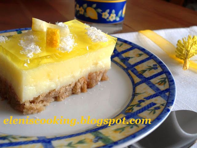 Μαγειρική με Φαντασία: Γλυκό με Φρυγανιές και γεύση Λεμόνι - Καρύδα