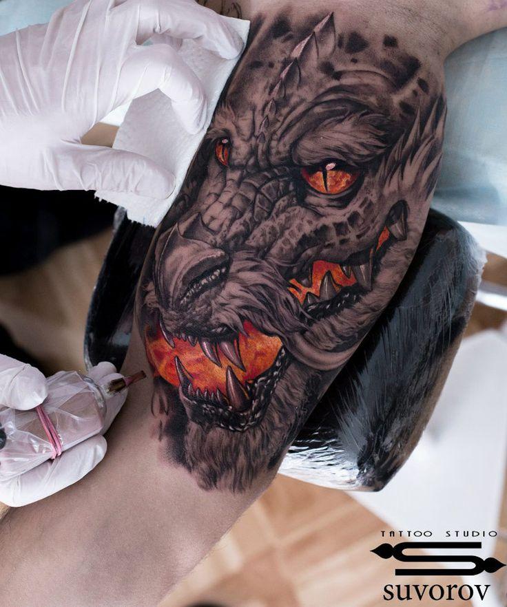 Dragon's Breath http://tattooideas247.com/dragons-breath/