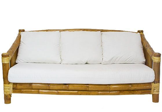 Our Deano Sofa perfect for a tropical outdoor lounge