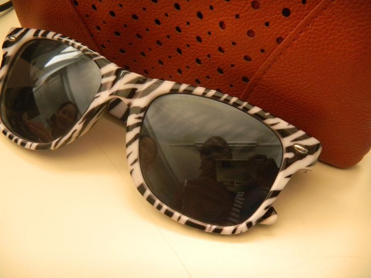 Friendship, zebra sunglasses (RIP) & my wallet