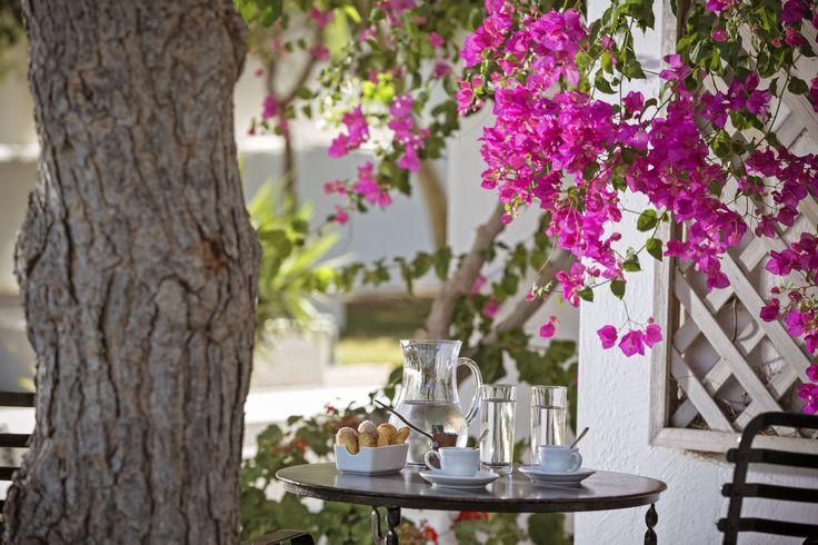 #KallistiThera hotel has so many beautiful places to relax! #Calmness #Santorini