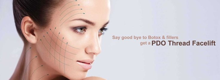 Although botox & fillers are popular, a recent PDO Thread lift treatment is increasingly becoming popular as an anti-ageing treatment.