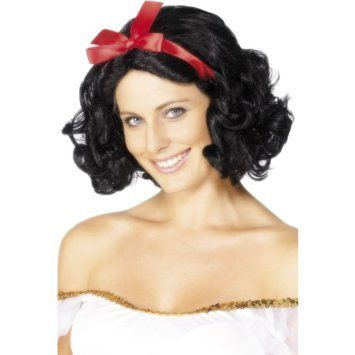 Let's Party With Balloons - Smiffy's Snow White Fairytale Wig, $33.00 (http://www.letspartywithballoons.com.au/smiffys-snow-white-fairytale-wig/)