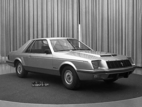 OG | 1979 Ford Mustang Mk3 | Clay model dated July 1976