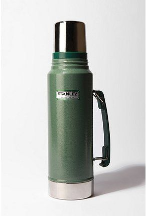 i love vintage stuff that looks like it's serious about getting the job done.   Thermos, by Stanley