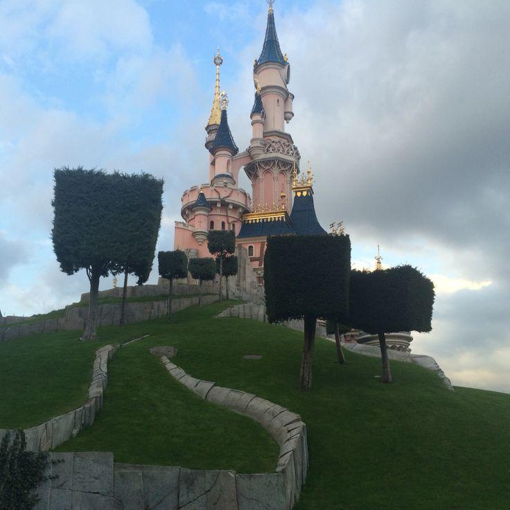Eurodisney cinderella castle  Assepoester kasteel