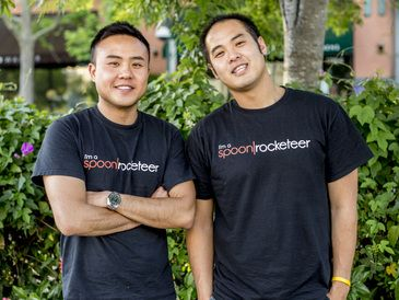 #StartupStory #8: #OnDemandMealDelivery #startup, @SpoonRocket, is offering what we all need- tasty and healthy meal delivered at the speed of light. With fresh ingredients and complete focus on making every delivery a wonderful experience for their customers, this '#UberforFood' company is successfully expanding and spreading its reach across the US.  #ExclusiveInterview with @Anson Tsui and @Steven Hsiao, founders of #SpoonRocket.