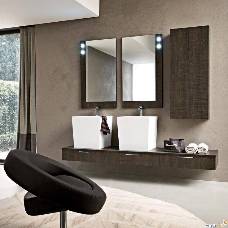 oltre 25 fantastiche idee su arredo bagno marrone su pinterest ... - Bagni Moderni Beige E Marrone