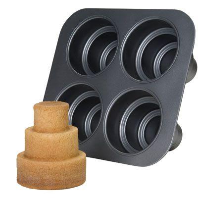 Non-Stick Multi Tiered Cake Pan