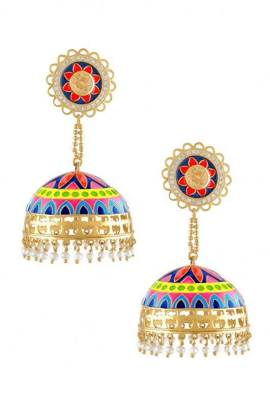 #amrapali #silver #earrings #traditional