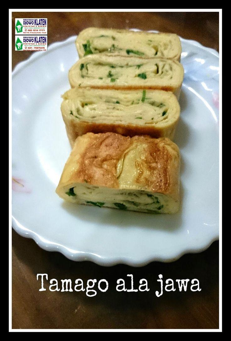 Rumah Makan DJOWO KLATEN: Tamago ala Jawa