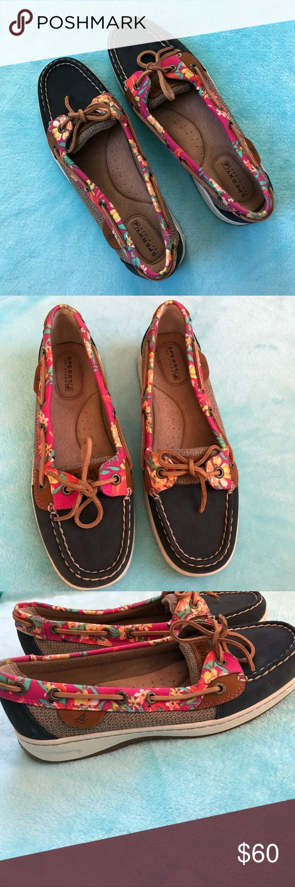 NWOT SPERRYS TOP SIDERS Does not include box but have never been worn. BRAND NEW! Size 7! Make me an offer :) Sperry Top-Sider Shoes Flats & Loafers
