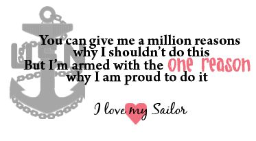 i love my sailor quotes - Google Search | I love my sailor ...