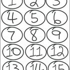 Hand-Drawn Number Icons (Numbers 1-15) | A set of hand-drawn number icons (numbers 1-15). Included in the file are 15 individual *.png files with transparent backgrounds and the *.eps file...