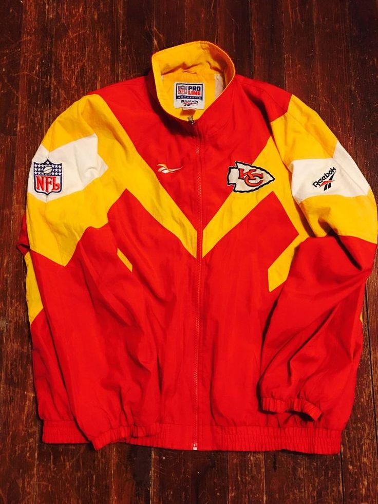 Reebok Proline NFL Kansas City Chiefs Jacket    eBay