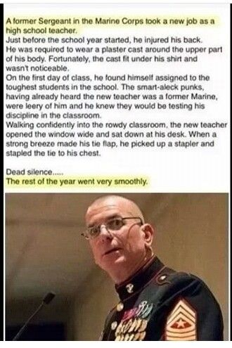 Marines are badass and smart
