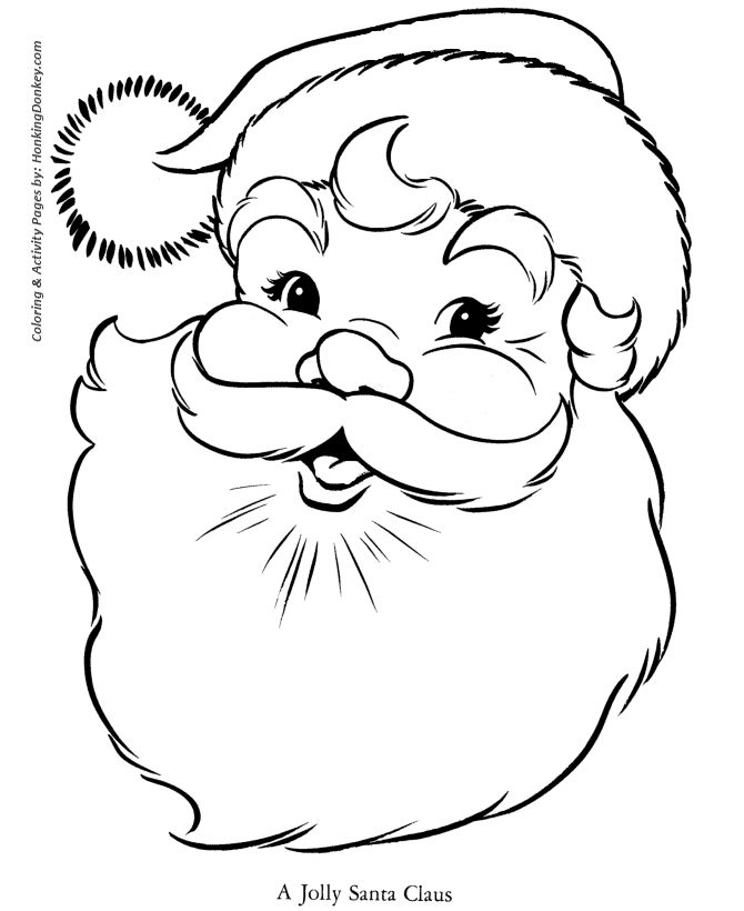 400 best Coloring Christmas Pages images on Pinterest