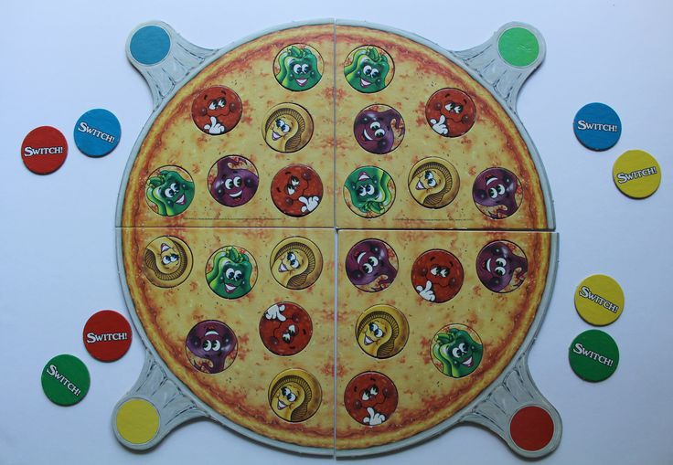 Vintage Parker Brothers Pizza Party Board Game 1987 by WylieOwlVintage on Etsy