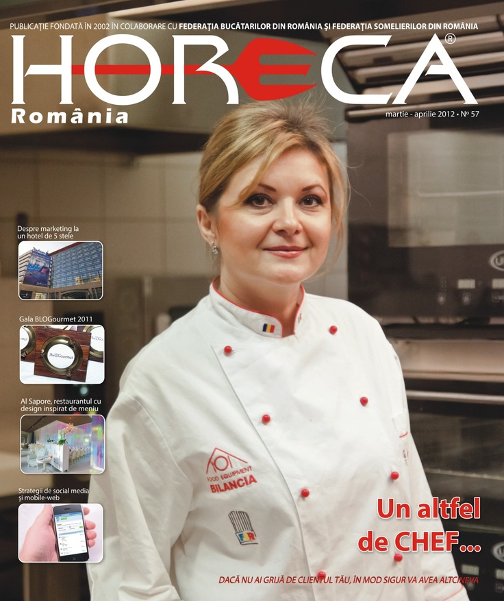Issue 57 - Dana Bica/Chef Osteria Gioia