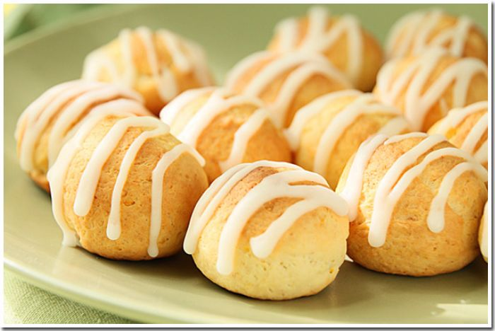 Творожно- лимонные печенье