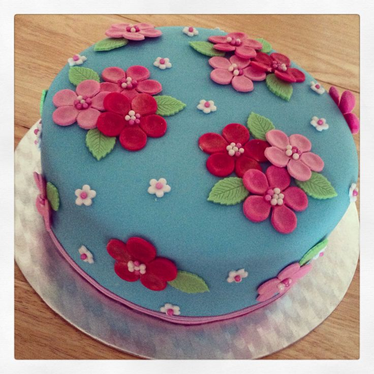 Cath Kidston Cake for Tasha's 30th