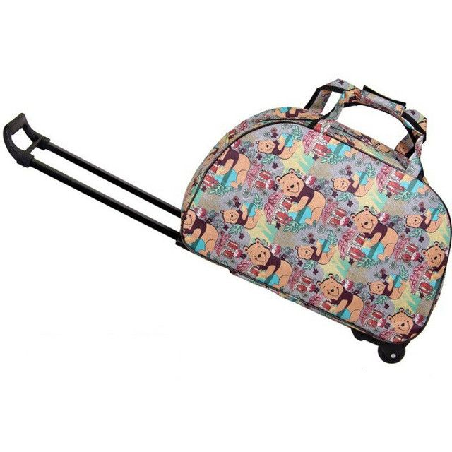 Fashion Women And Men Carry-Ons Travel Luggage Bags Wheels Suitcase For Travel Luggages Trolley Rolling Luggage 2017 Hot