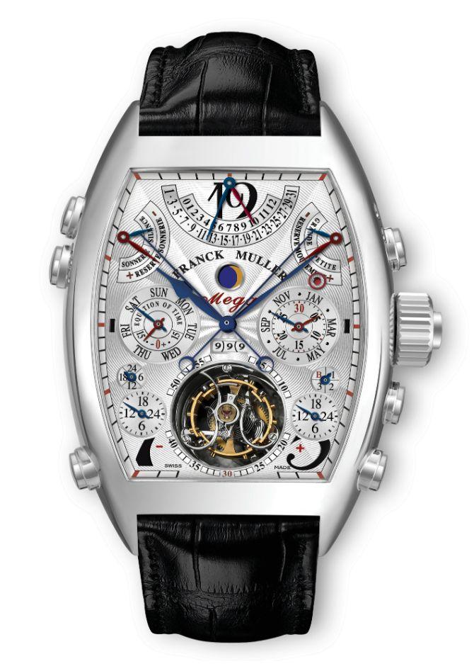 Top 10 Most Expensive Watches in 2014 - Franck Mueller Aeternitas Mega 4 – $2,700,000