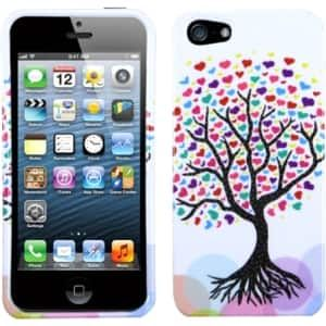 Insten Love Tree Phone Case Cover for Apple iPhone 5 / 5C / 5S / SE