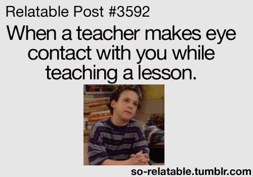 That Awkward Moment teachers | gif gifs teacher school Awkward moments moment when lesson eye contact